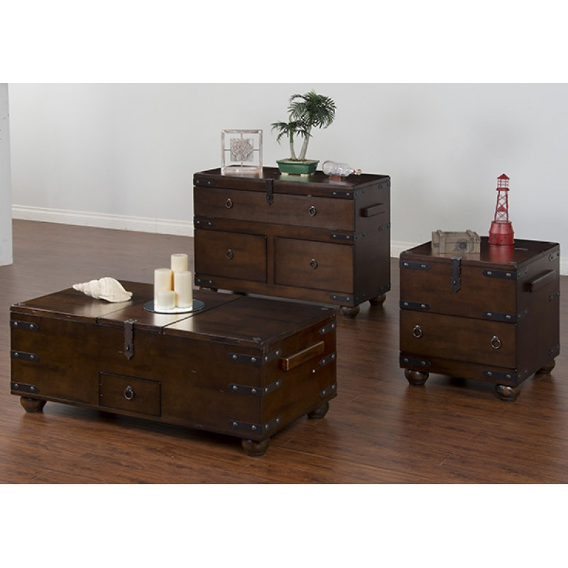 Santa Fe Occasional Trunk Tables